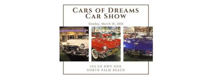 Car Show Cars Of Dreams Museum - Palm beach car show