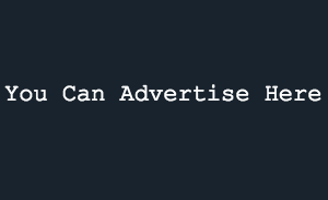 You Can Advertise Here